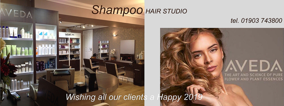 Happy 2019 Shampoo Hair Studio Storrington